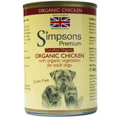 6 x Simpsons Premium Certified Organic Adult Chicken Casserole 400g