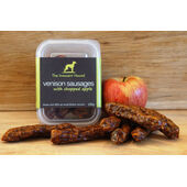 6 x The Innocent Hound Venison Sausage With Chopped Apple 100g