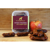 6 x The Innocent Hound Venison Chipolatas With Chopped Apple 100g