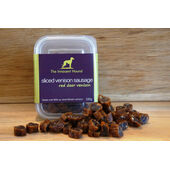 6 x The Innocent Hound Sliced Venison Sausage 100g
