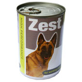 12 x Zest VAT Free For Working Dogs Large 400g
