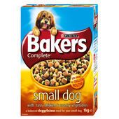 Bakers Meaty Meals Small Dog Chicken Adult Dry Dog Food - 1kg