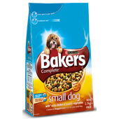 Bakers Complete Small Dog Chicken Adult Dry Dog Food - 2.7kg
