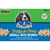 Chewdles Milky Cheesy Small Bones 10kg