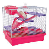 Rosewood Pico XL Hamster Cage - Pink