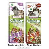 16 x Versele Laga Crispy Sticks Rabbit & Chinchilla Herbs