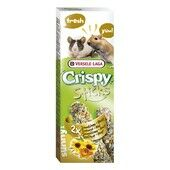 16 x Versele Laga Crispy Sticks Gerbil & Mice Sunflower & Honey