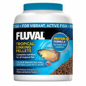 Fluval Tropical Sinking Pellets Fish Food