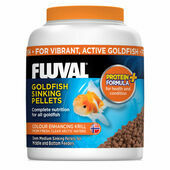 Fluval Goldfish Sinking Pellets Colour Enhancing Fish Food