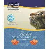 6 x Fish4cats Salmon Mousse 100g