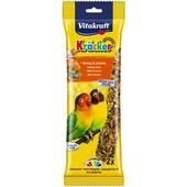 5 x Vitakraft African Parrot & Lovebird Small Breed Honey Sticks 2pk