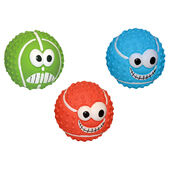 3 x Happypet Latex Balls Assorted