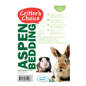 Critter's Choice Aspen Bedding Litre 12