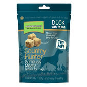10 x Natures Menu  Country Hunter Freeze Dried Dog Treats Duck With Plum 50g