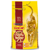 Go-Cat Crunchy And Tender Beef Chicken & Veg 1.5kg
