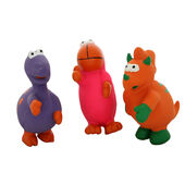 6 x Good Boy Latex Dinosaur Assorted