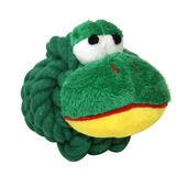 3 x Happypet Knottie Heads Frog
