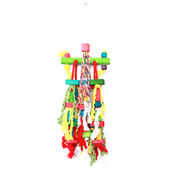 HappyPet MishMash Multi Color Parrot Toy