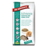 6 x Mr Johnson's Advanced Hamster & Gerbil 750g