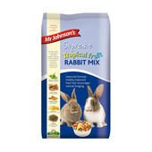 4 x Mr Johnson's Supreme Rabbit Tropical Fruit Mix 2.25kg