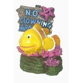 Supa Ornaments No Fishing Sign Clown Fish