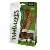 288 x Whimzees Toothbrush Extra Small 7cm