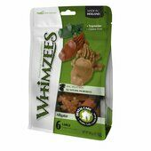 6 x Whimzees Alligator Natural Dog Treat
