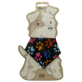 Toggles Paw Prints Dog Bandana