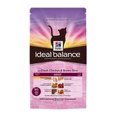 Hill's Ideal Balance Feline Adult With Fresh Chicken And Brown Rice