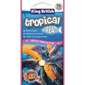 6 x King British Tropical Fish Treats 70pce