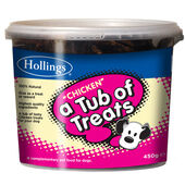 Hollings Tub Of Chicken Treats 450g