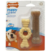 Nylabone Puppy Chew Twin Pack Ring Bone Petite