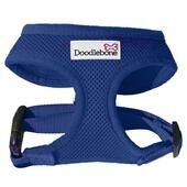 Navy Blue Doodlebone Air Mesh Dog Harness