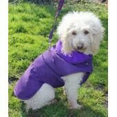 Cosipet Purple Waterproof Weather Resistant Coat