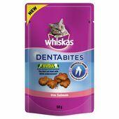 8 x Whiskas Dentabites Salmon 50g