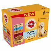 Pedigree Meat & Rice In Jelly Wet Puppy Food