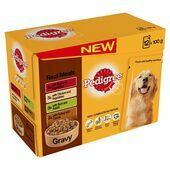 Pedigree Real Meals Meat and Veg In Gravy Wet Dog Food Variety Pack
