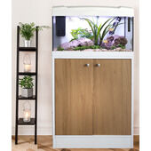 Marina 54 2 Door Cabinet White/oak