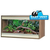 Vivexotic Viva+ Terrestrial Vivarium Medium Walnut 86.2x49x50cm