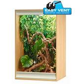 Vivexotic Viva+ Arboreal Vivarium Small Oak 57.5x49x91.5cm