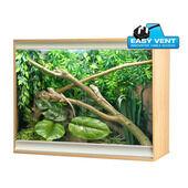 Vivexotic Viva+ Arboreal Vivarium Large Deep Oak 115x61x91.5cm