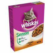 5 x 825g Whiskas Dry Senior With Chicken