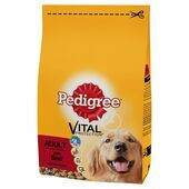 5 x Pedigree Dry Vital Protection Beef 1kg