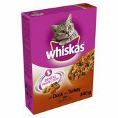 Whiskas Dry With Duck & Turkey