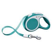 Flexi Vario Retractable Tape Lead Turquoise Blue