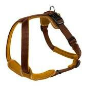 Hunter Neoprene Nylon Harness Brown/caramel