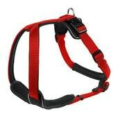 Hunter Neoprene Nylon Harness Red/black