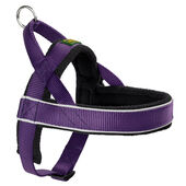 Hunter Norwegian Racing Nylon Harness Violet/fleece Black