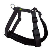 Hunter Trekking Nylon Harness Black/fleece