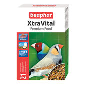 6 x Beaphar Xtravital Finch Food 500g